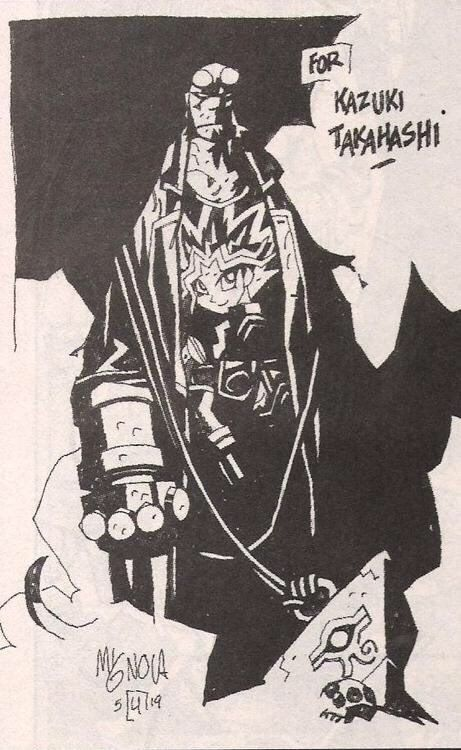 Image by Mike Mignola