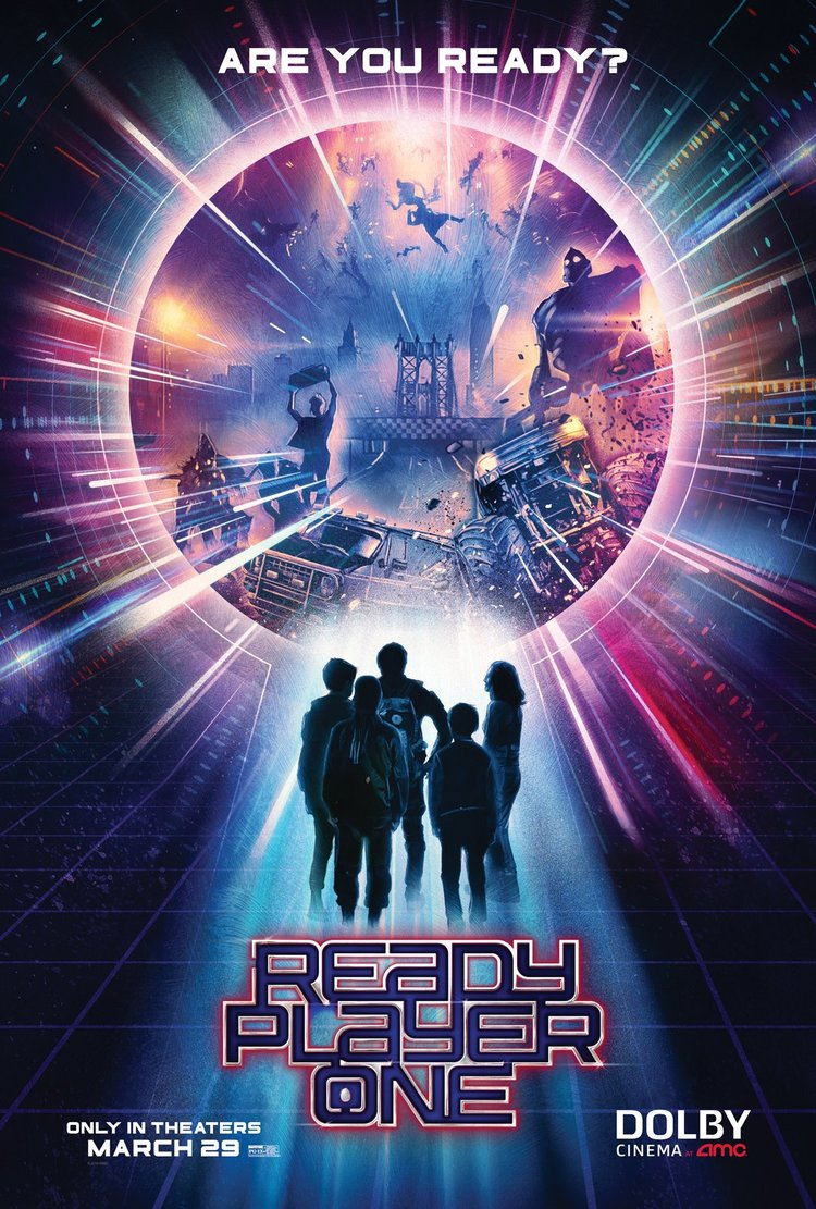 2 new posters and 9 photos for ready player one offer a new glimpse