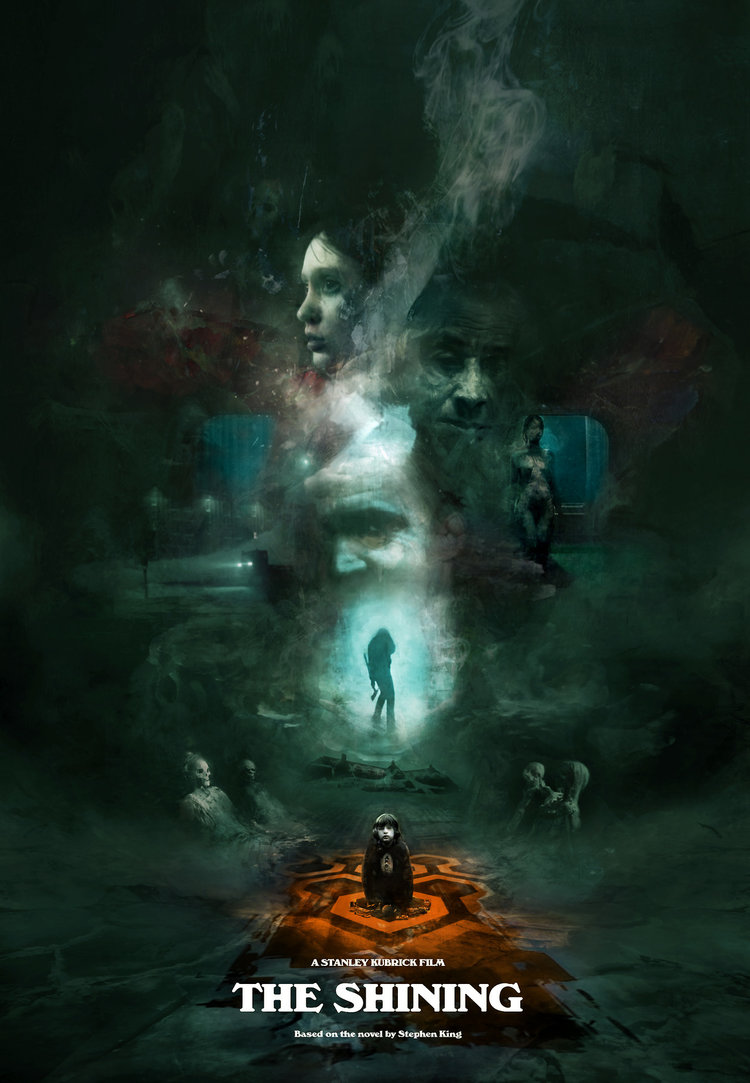 Stunning Horror Film Watercolor Art Series By Artist Christopher Shy ...