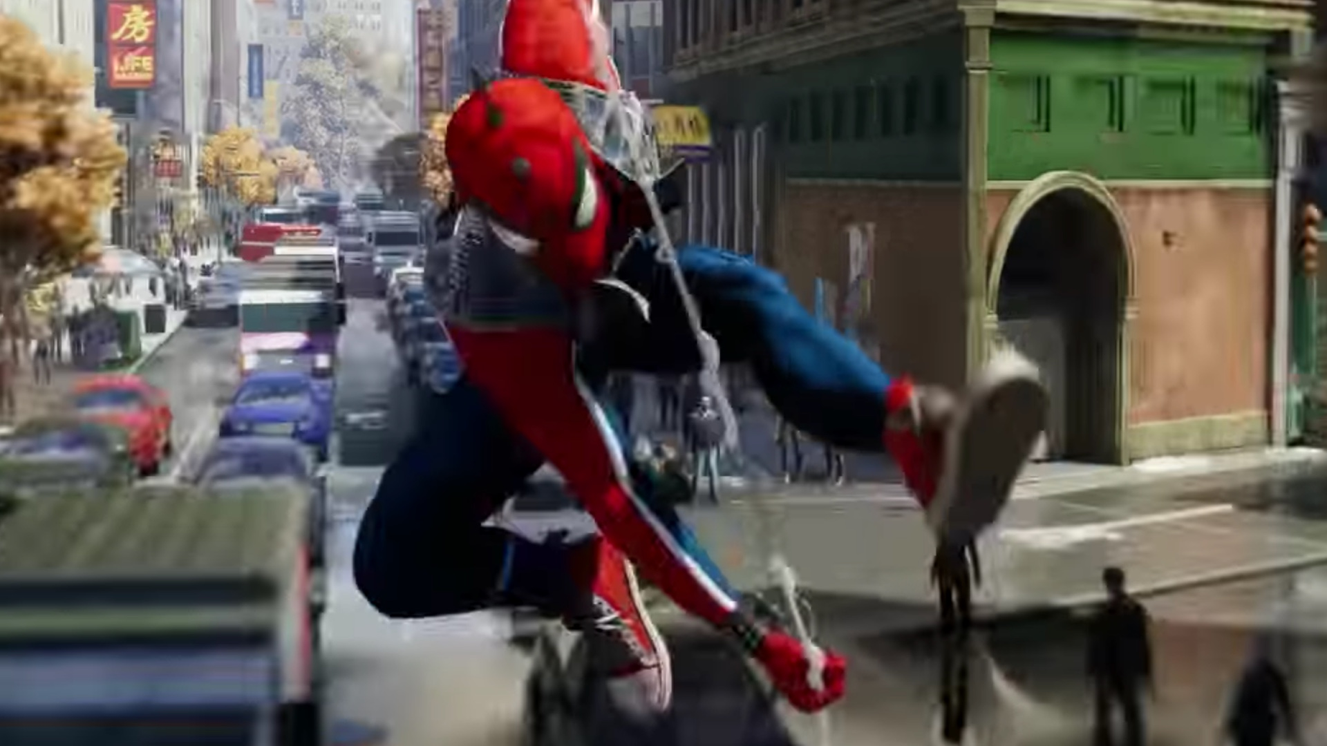 three alternate suits revealed for ps4's spider-man video game and