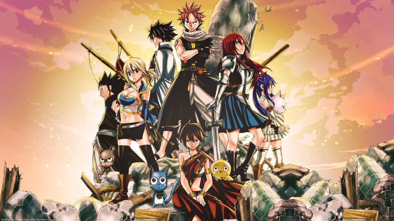 Final Season of FAIRY TAIL Officially Announced for Fall