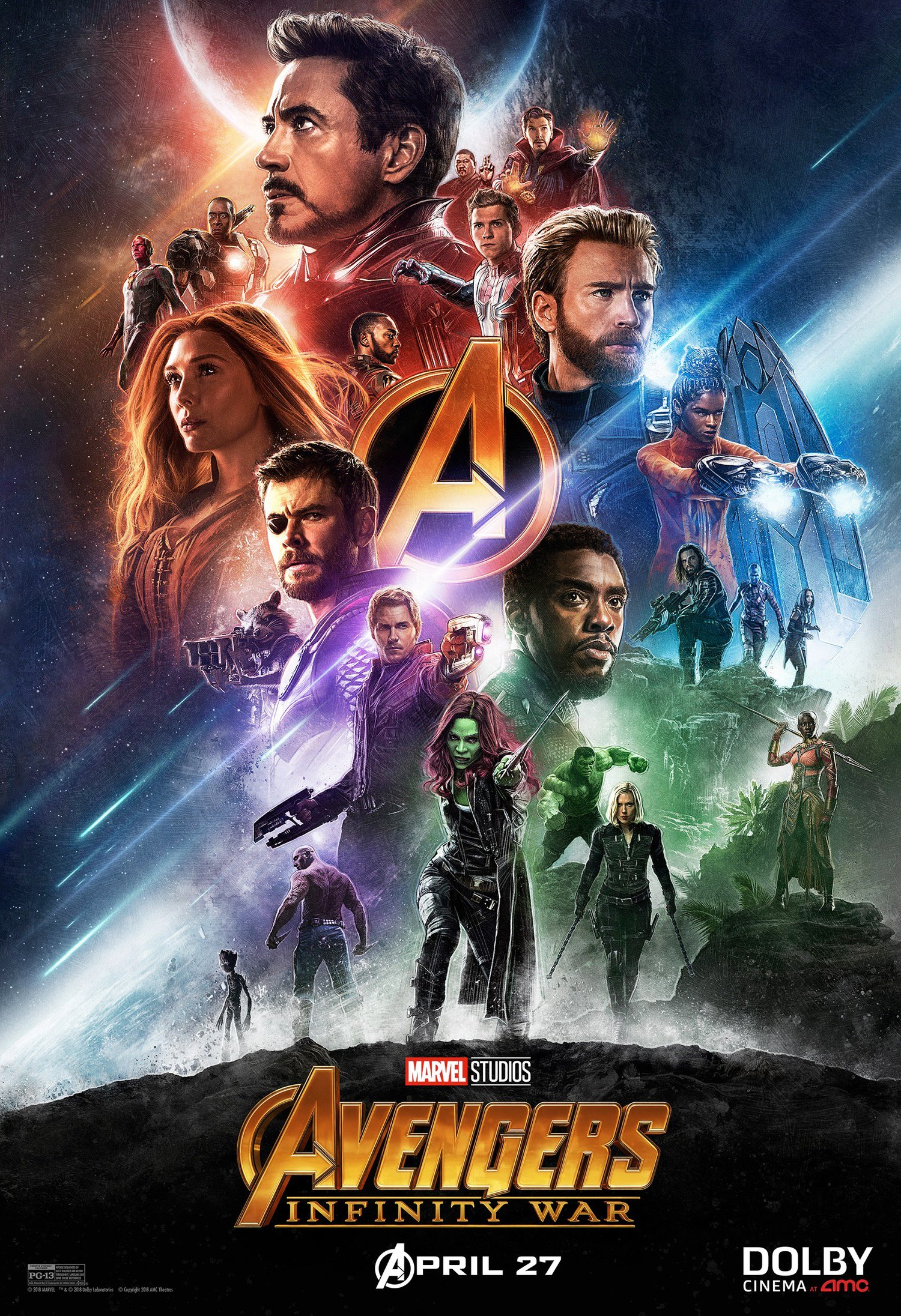 2 new posters revealed for avengers: infinity war and new promo spot