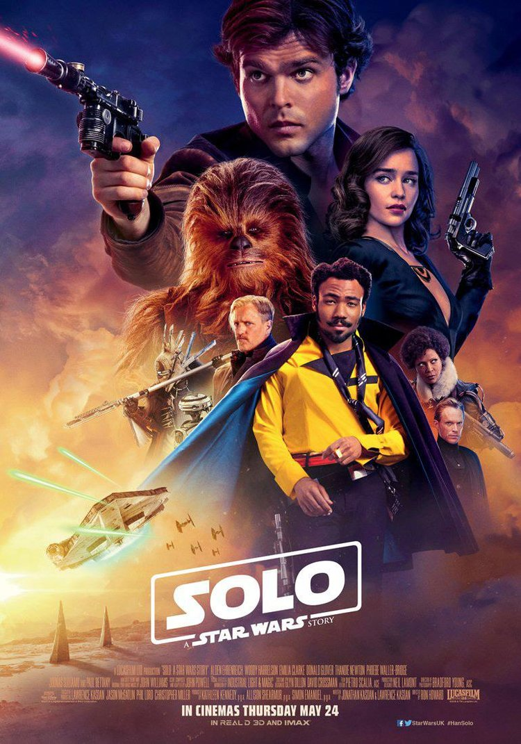 Most Epic Win Image Movies Releases 25th May 2018 Solo: A Star Wars Story