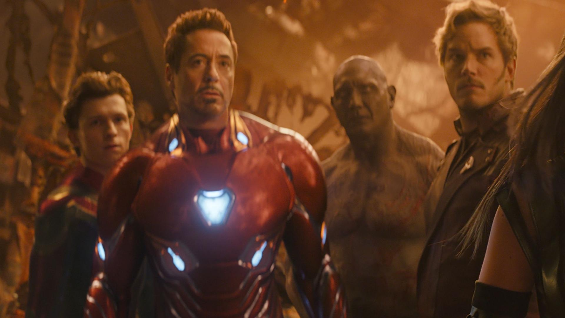 end of avengers infinity war