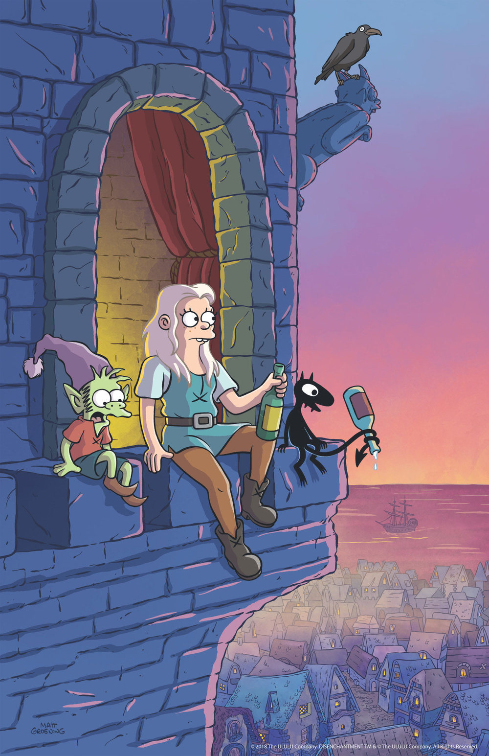 first-look-at-matt-groenings-animated-fantasy-netflix-series-disenchantment5