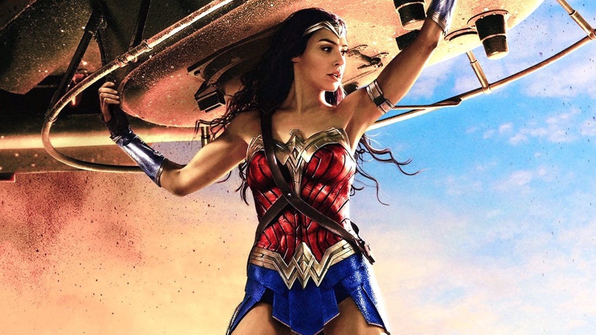 DC Entertainments Geoff Johns Recently Changed Up His Twitter Header Image And It Features The First Logo Weve Seen For Wonder Woman 2