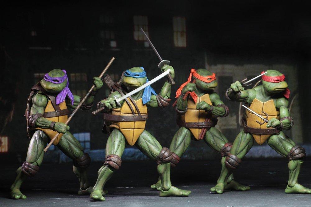 NECA Unveils An Awesome Line Of TEENAGE MUTANT NINJA TURTLES 1990 Movie Action Figures!