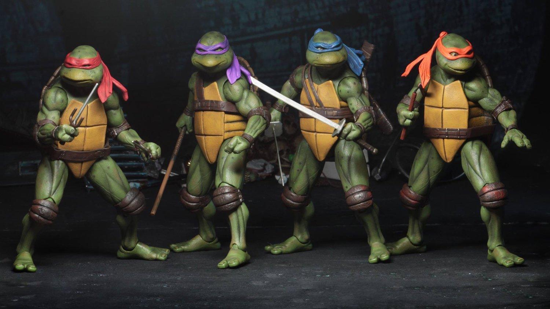 Neca Unveils An Awesome Line Of Teenage Mutant Ninja Turtles 1990