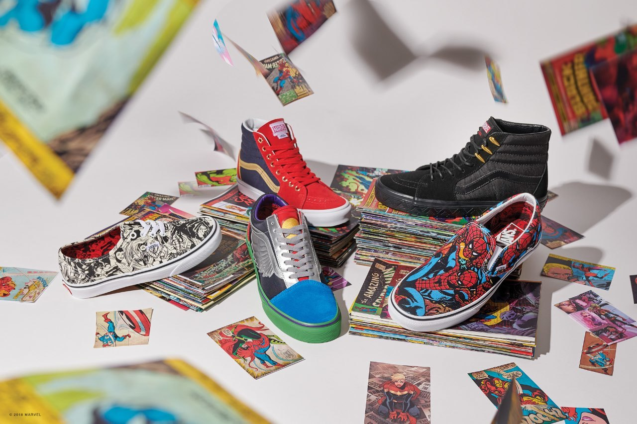 3fcb08a98e8cab Vans Reveals Their New Marvel-Themed Shoe and Clothing Line — GeekTyrant