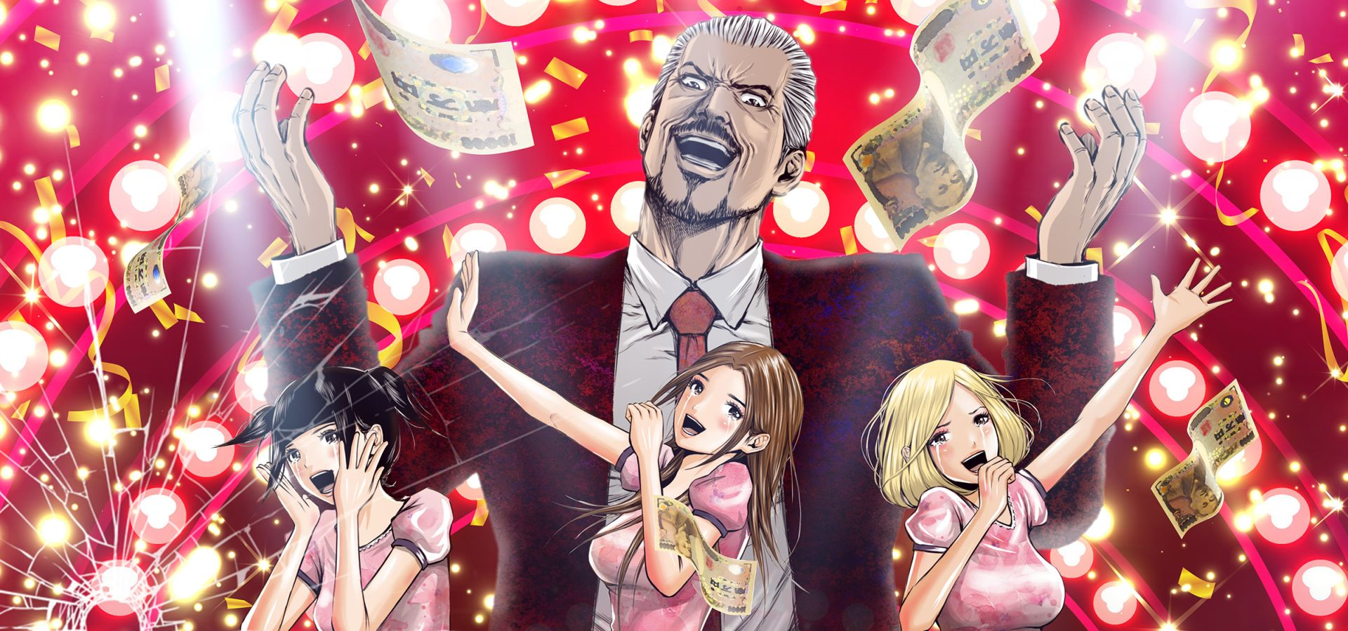 Back street girls is a manga comedy series where three yakuza have to become girl pop idols i will admit ive never read the series but it sounds