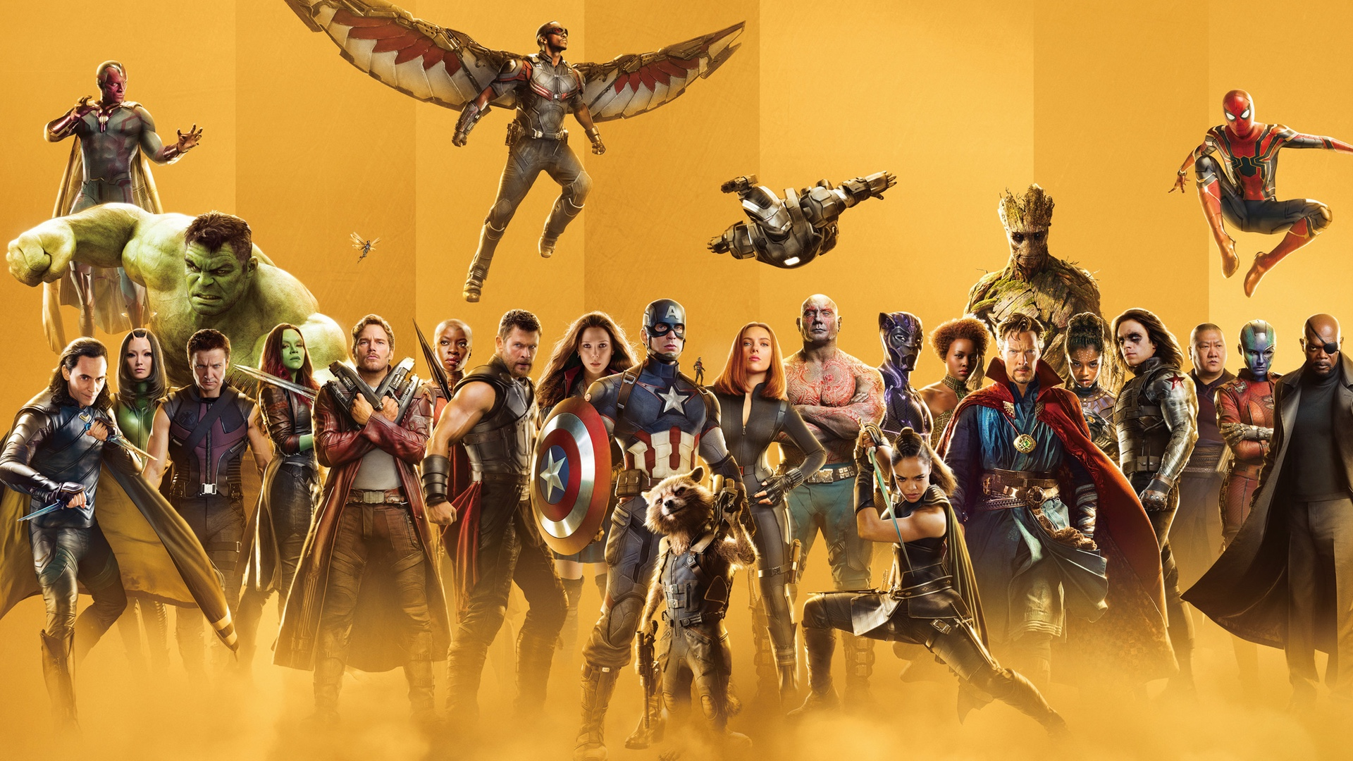"""marvel studios releases a ton of gold """"more than"""" character"""