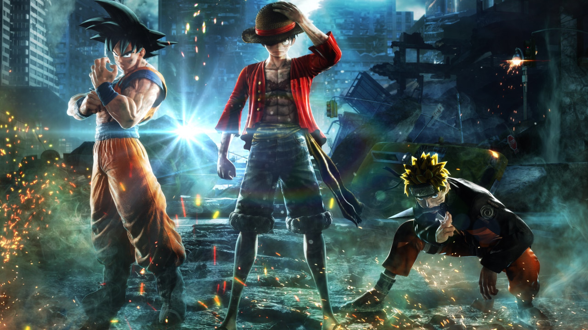Naruto Goku Luffy And More Anime Characters Team Up In Crazy