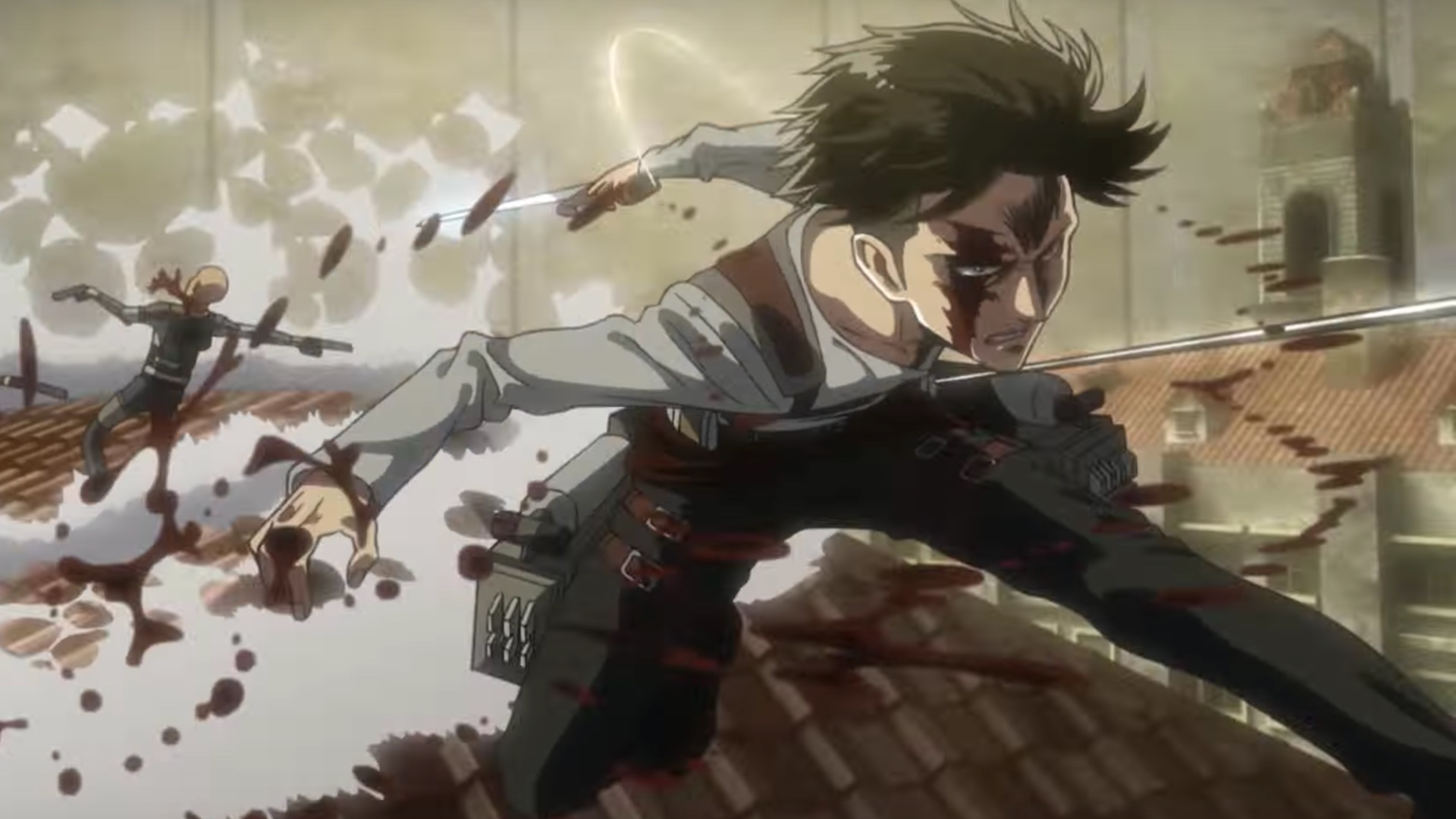 4k Wallpaper Latest Attack On Titan Season 3 Part 2 Wallpaper