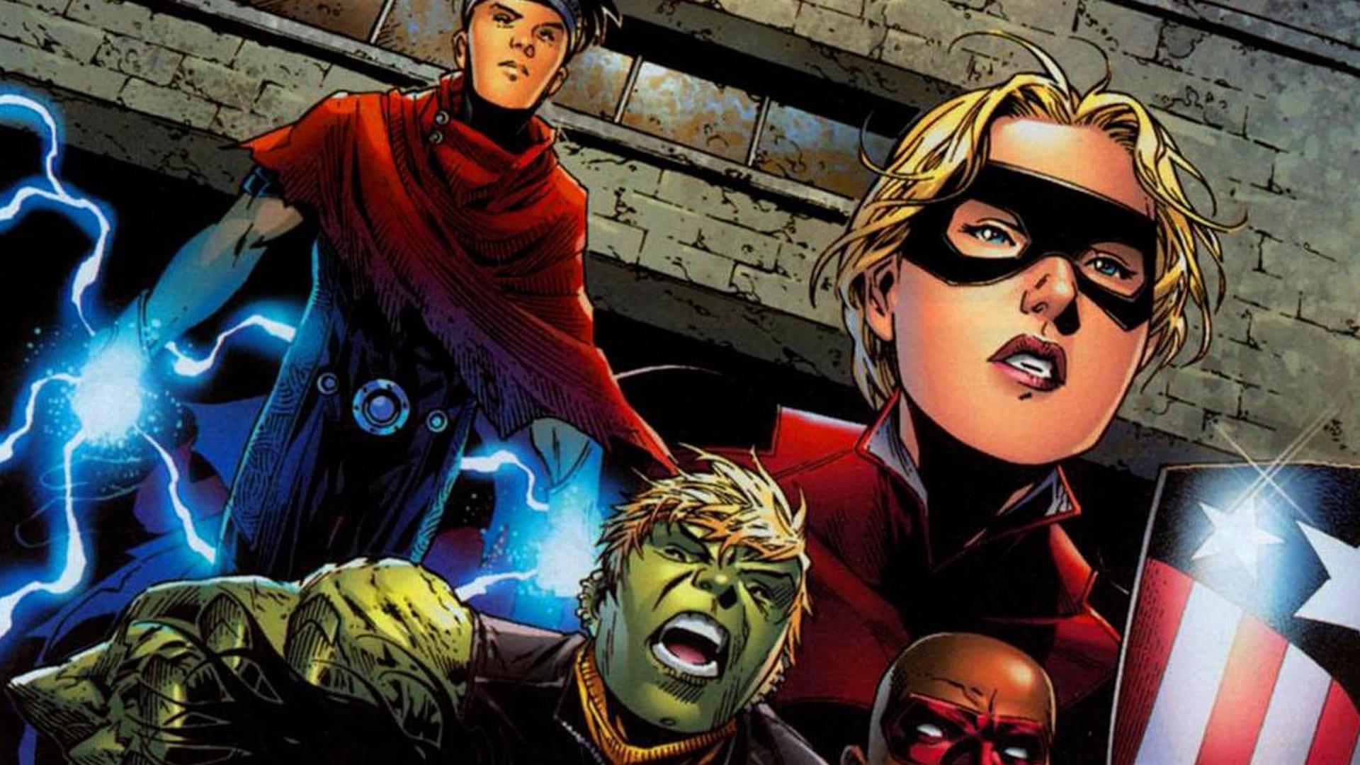 Resultado de imagem para young avengers