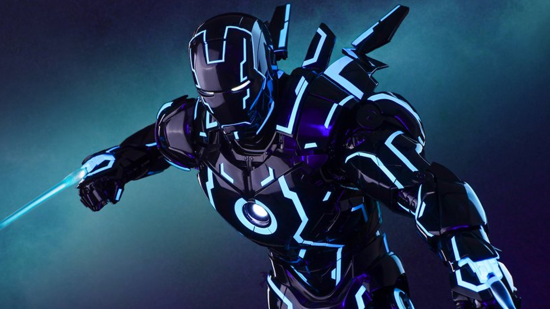 This IRON MAN And TRON Mashup Action Figure Is Too Cool For Words ...