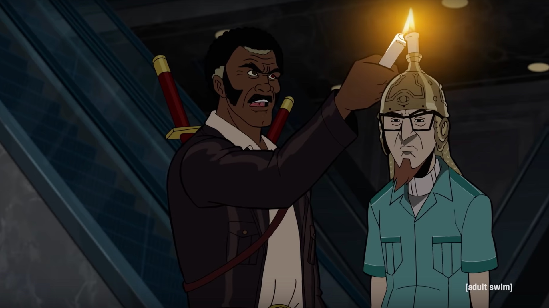 the first clip for the venture bros season 7 features the team