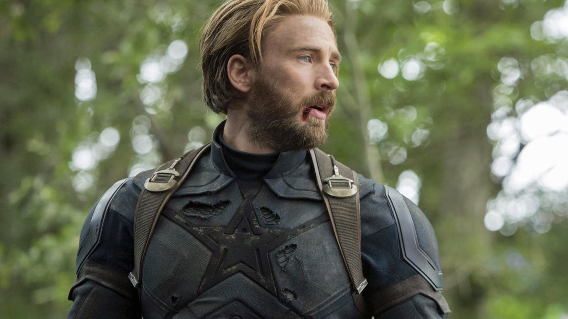 here's a more detailed look at captain america's new costume and