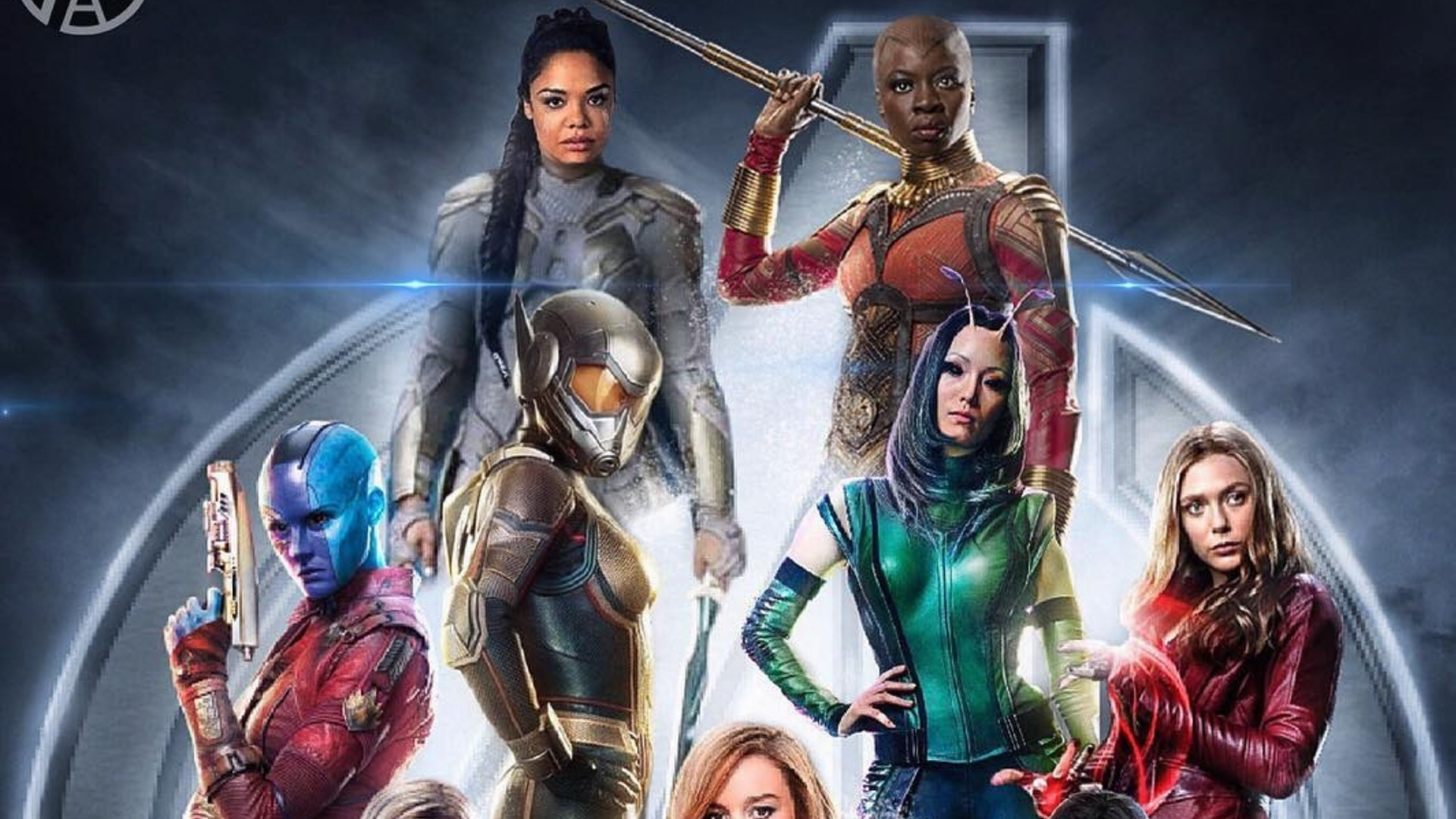fan made a force poster brings female avengers team to life geektyrant