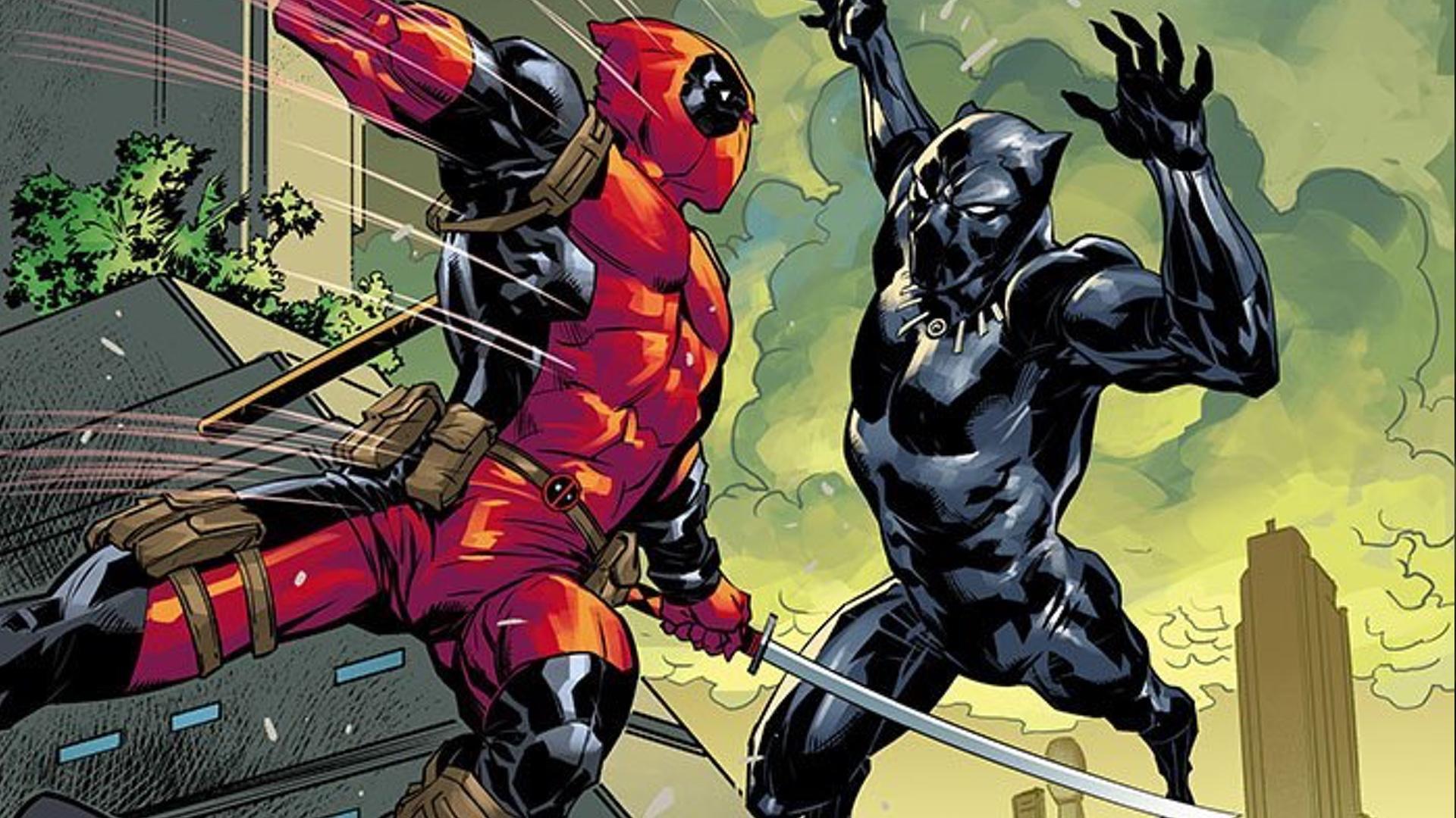 marvel comics announces black panther vs deadpool series geektyrant