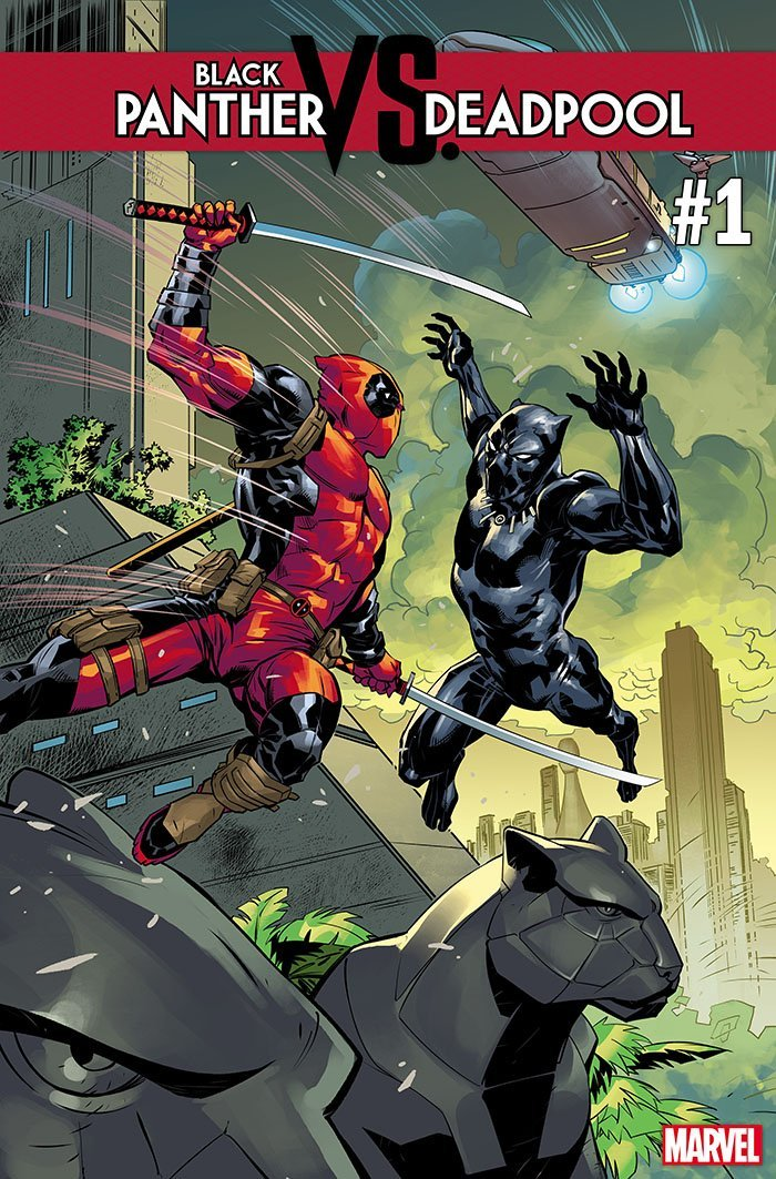 Marvel Comics Announces Black Panther Vs Deadpool Series Geektyrant