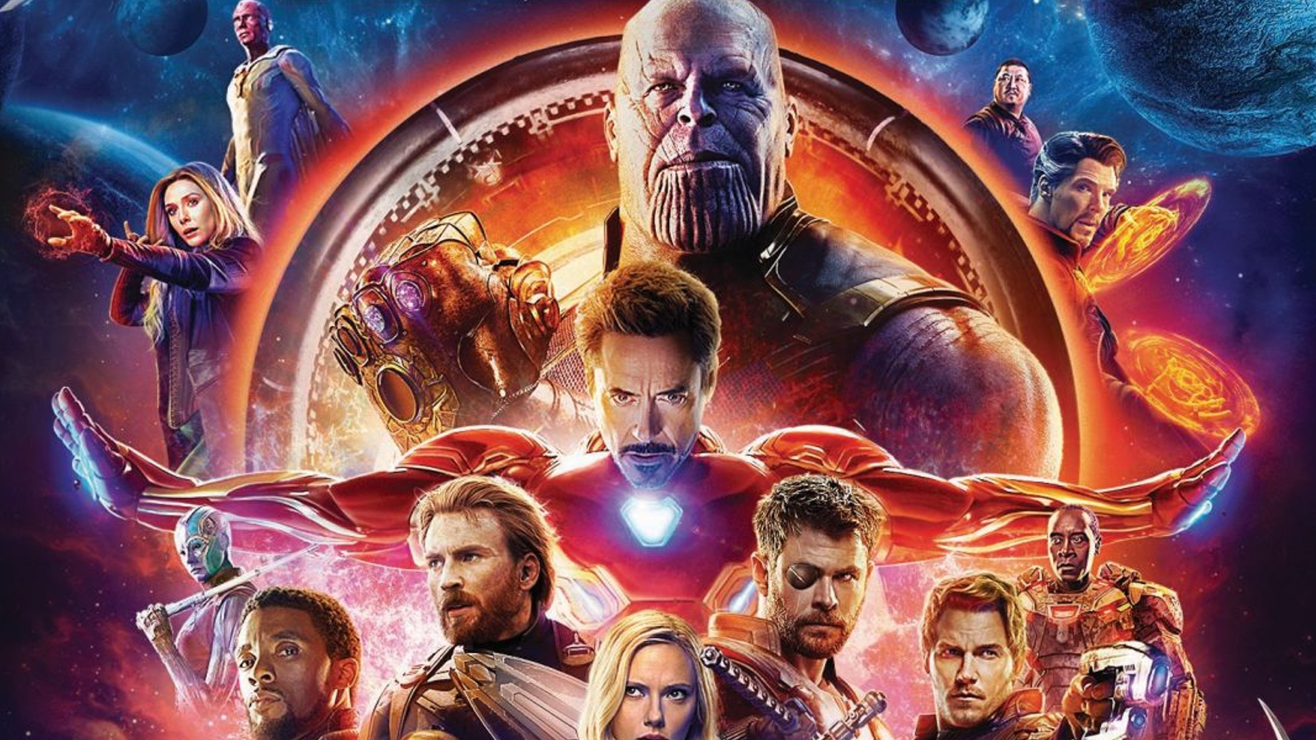 Marvel Releases Details On Avengers Infinity War Blu Ray 4k And
