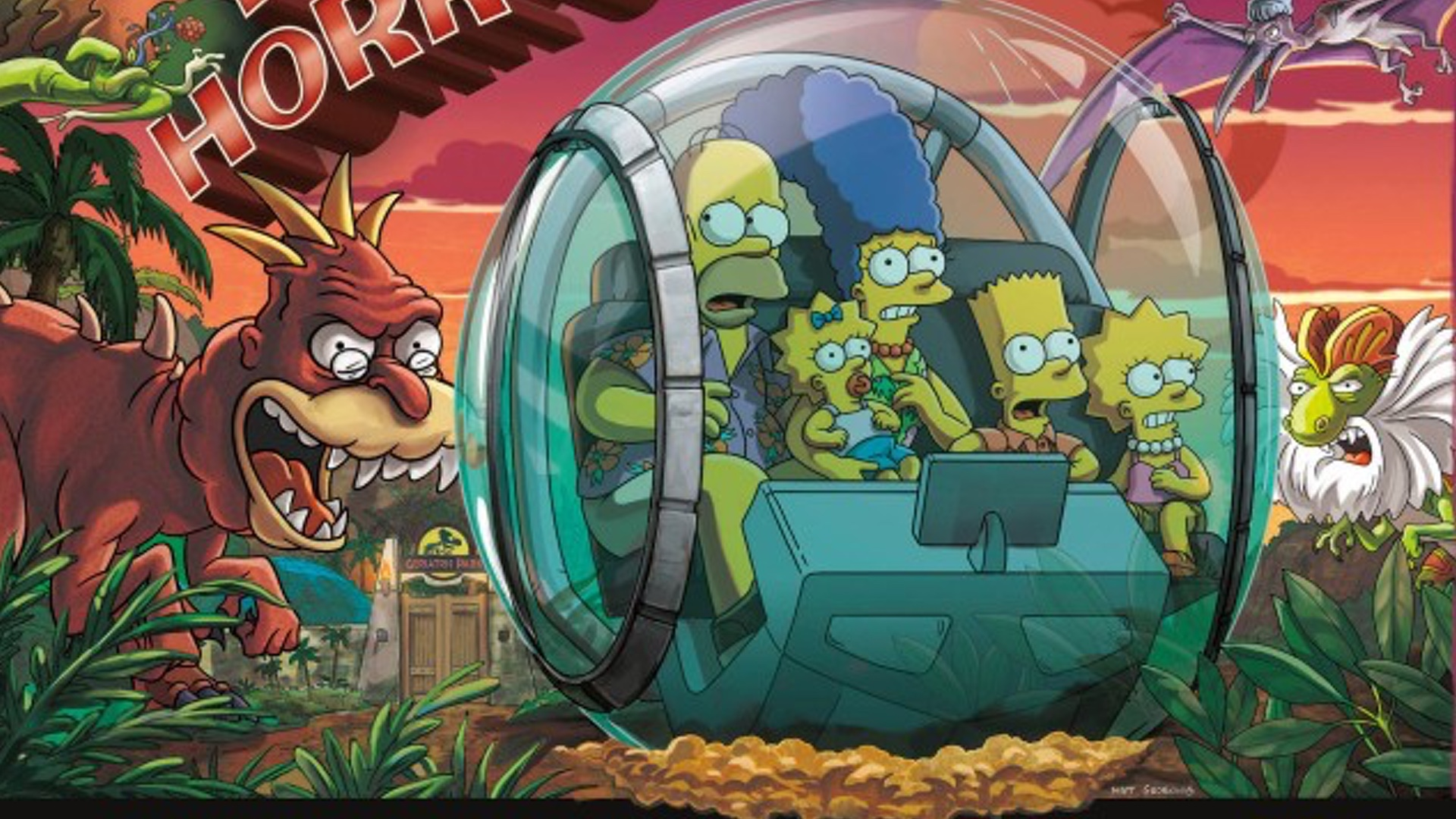 Halloween Simpsons Treehouse Of Horror.The Spores Attack In Clip From The Simpsons Upcoming Treehouse Of