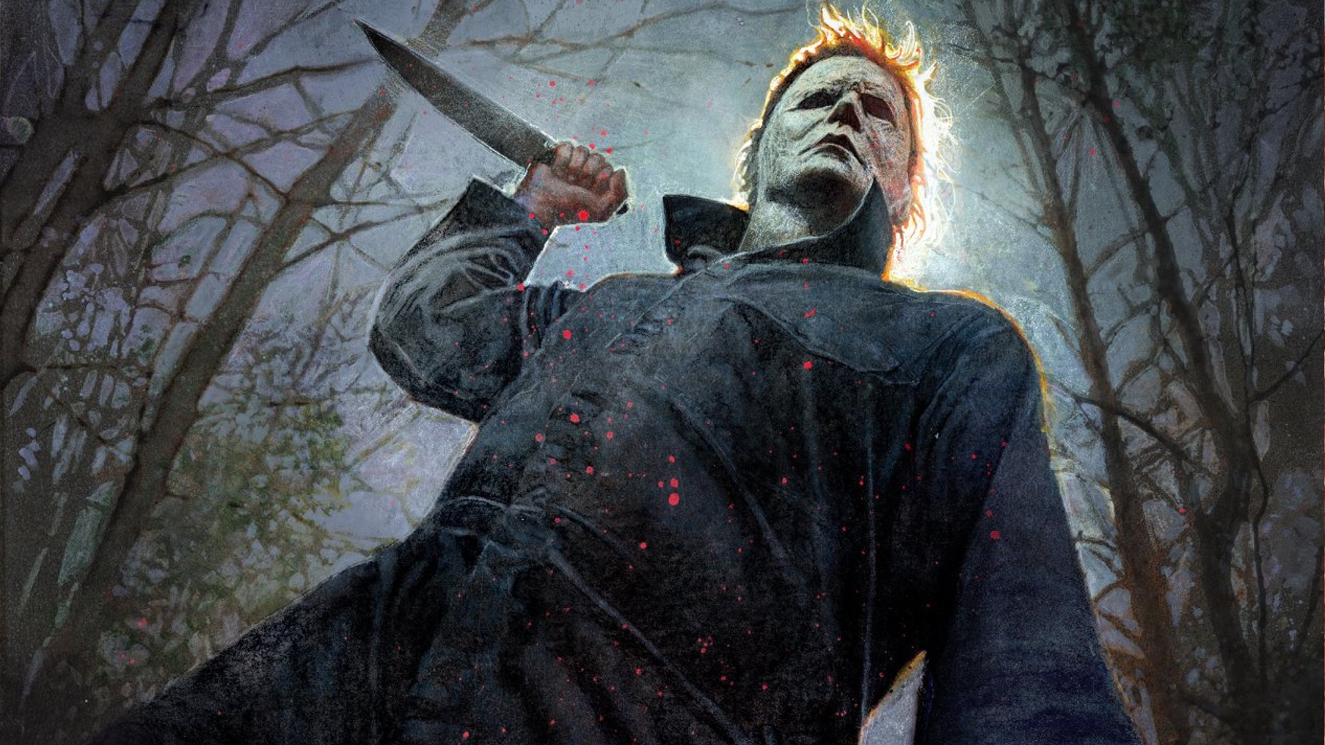 michael myers is read to kill in this