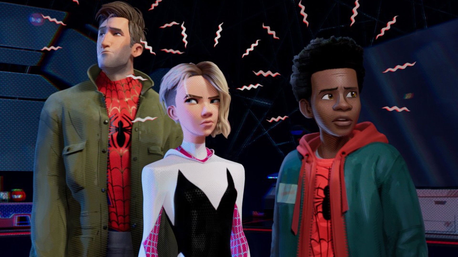 New Photo From Spider Man Into The Spider Verse And New Spider
