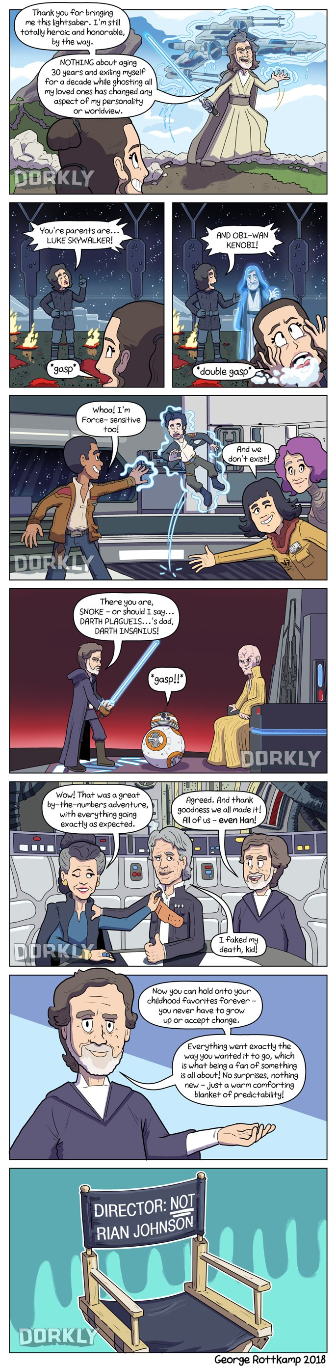 This STAR WARS: THE LAST JEDI Comic Strip Gives Haters What They Wanted1