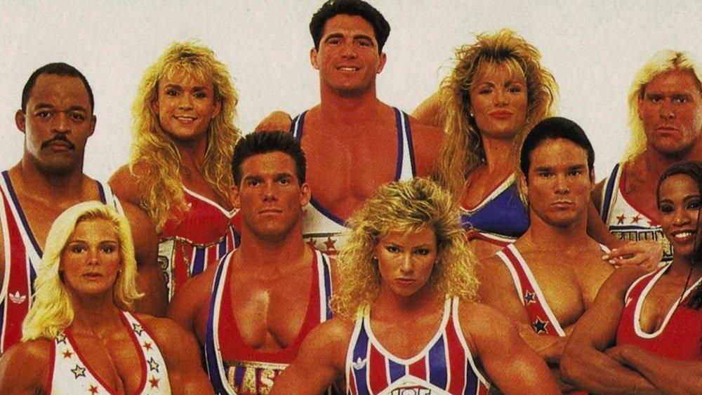 Hulk hogan presents american gladiators like its - 2019 year