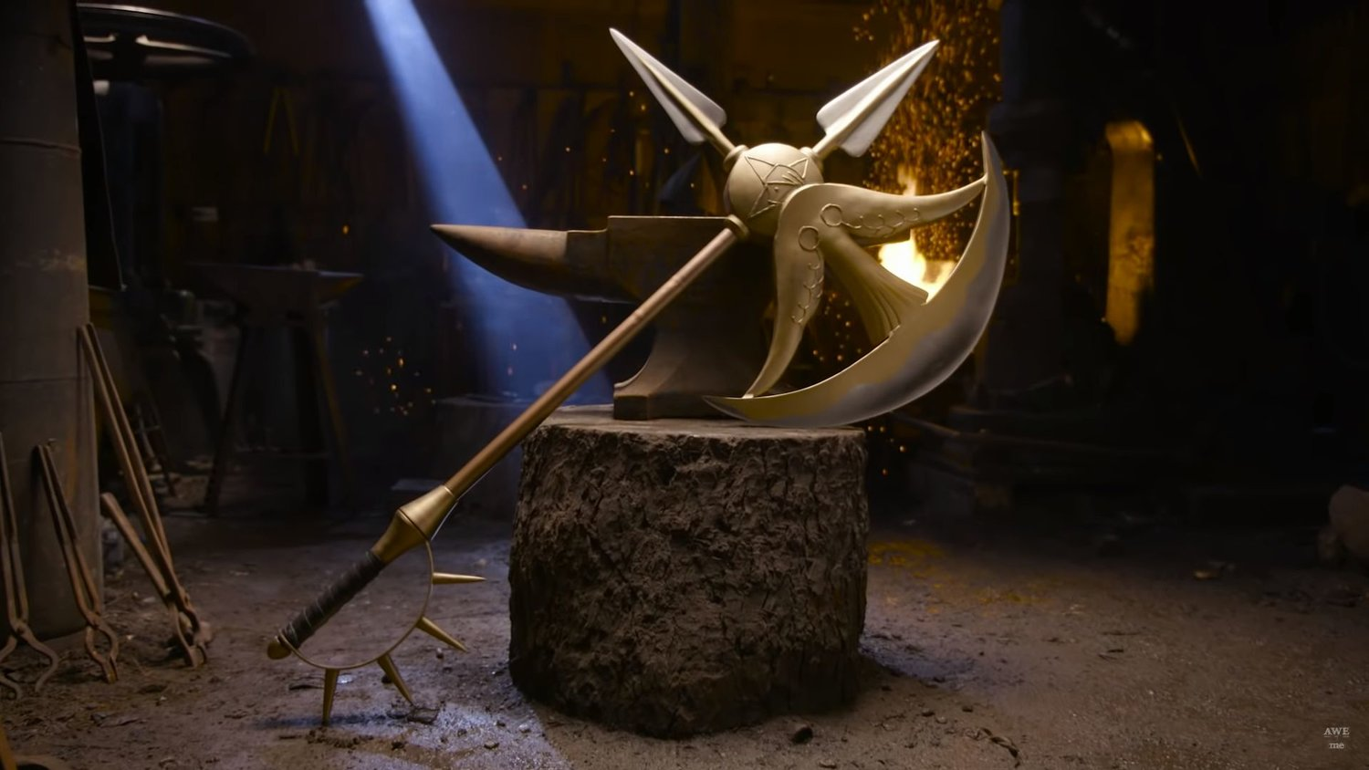 MAN AT ARMS: REFORGED Shows Smiths Making a Reverse Blade