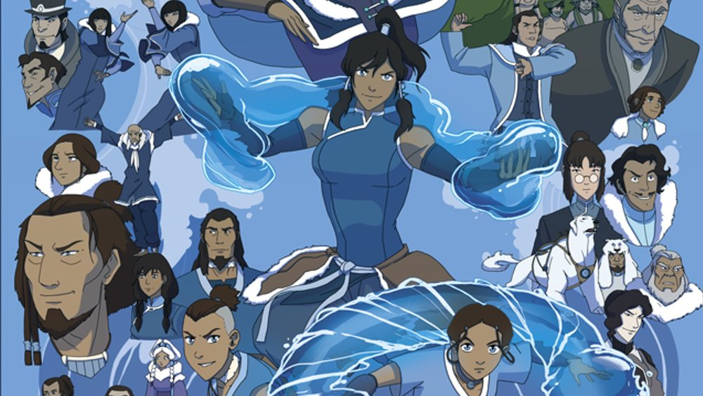 Think, that Avatar the last airbender fan characters does