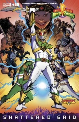 power rangers comic pays homage to dragon ball z in variant cover