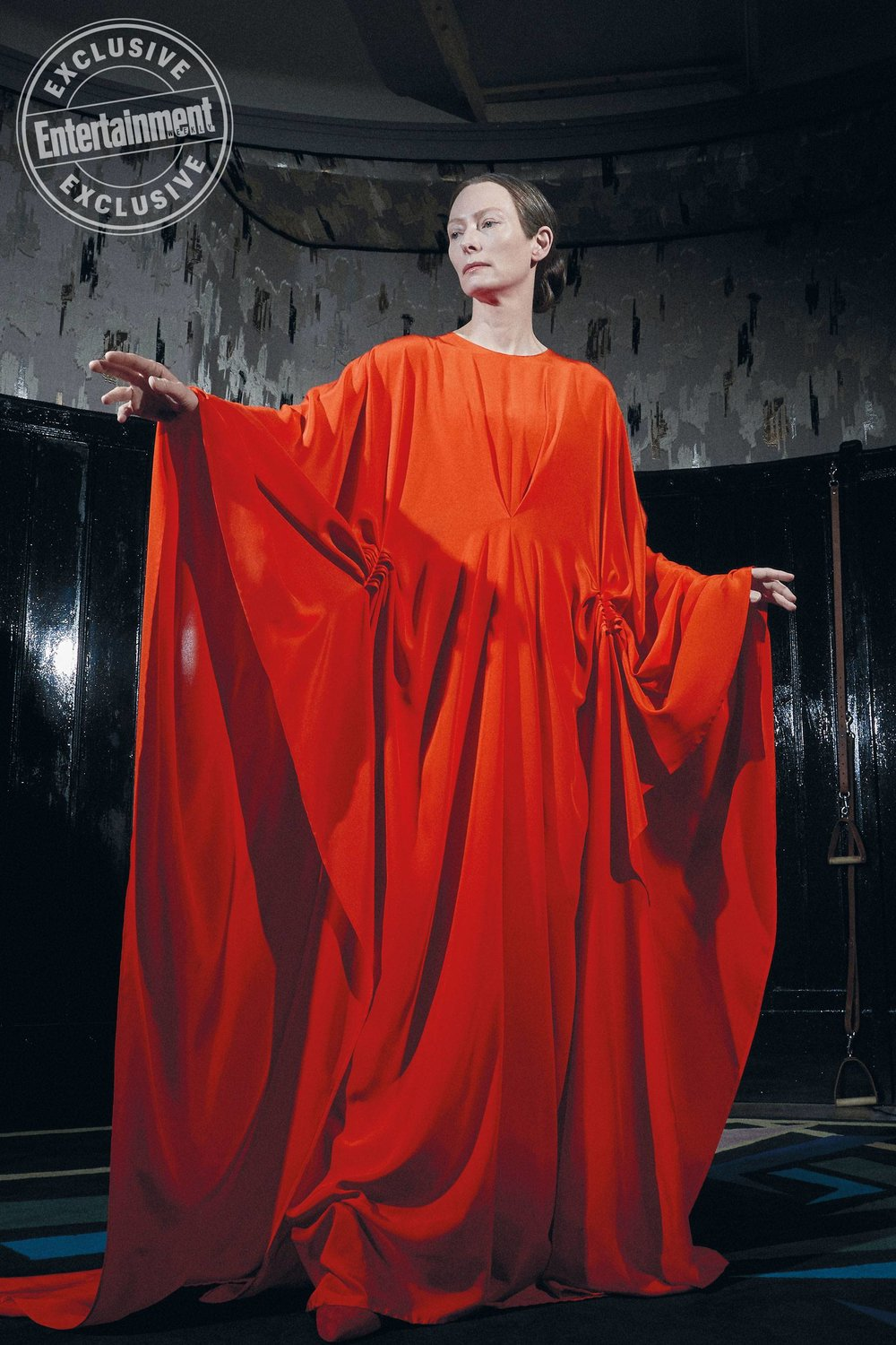 New Photo of Tilda Swinton as Madame Blanc in The SUSPIRA Remake-1