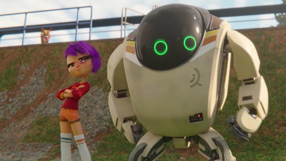 Female domination robot story