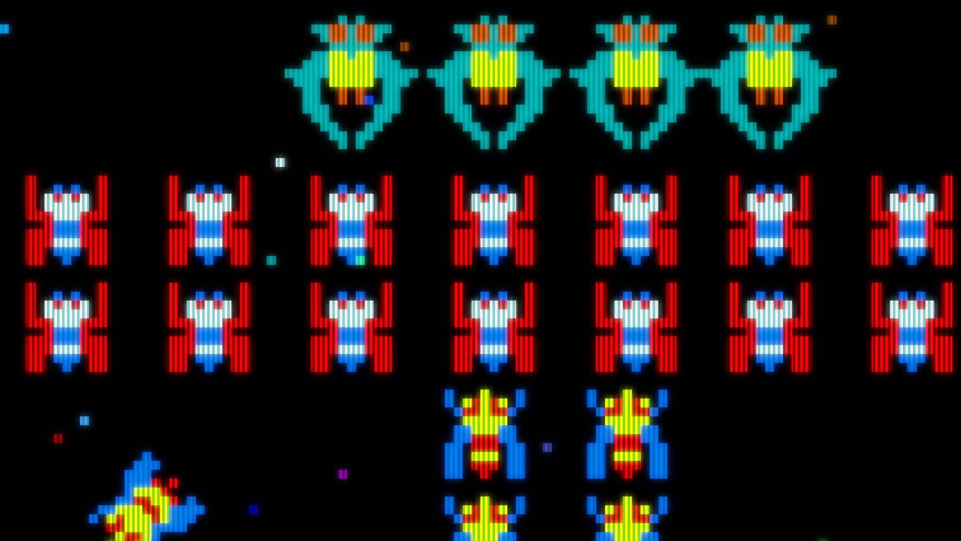 the classic arcade game galaga is being developed into a tv series