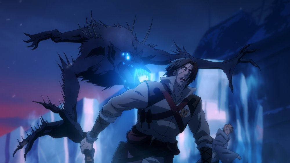Netflix Drops Super Red Season 2 Poster For CASTLEVANIA