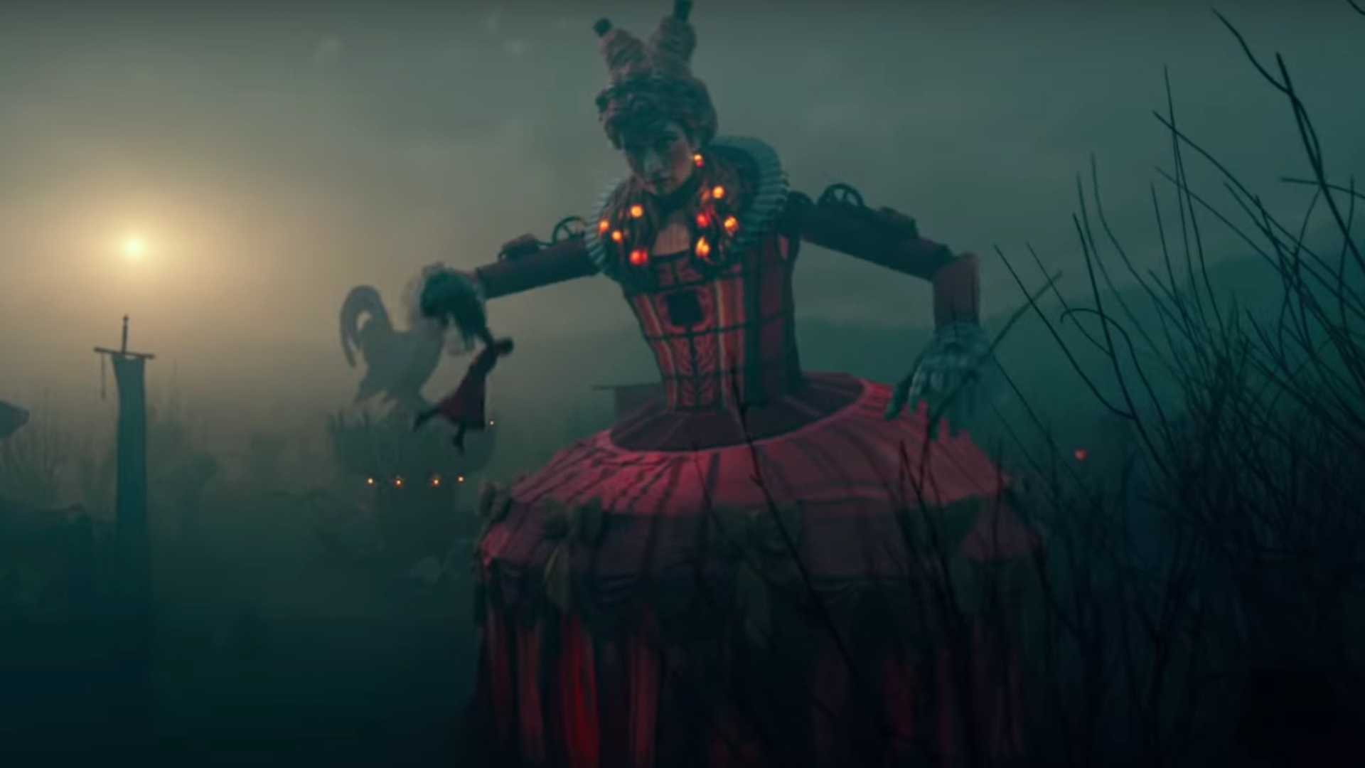 Image result for mother ginger the nutcracker and the four realms