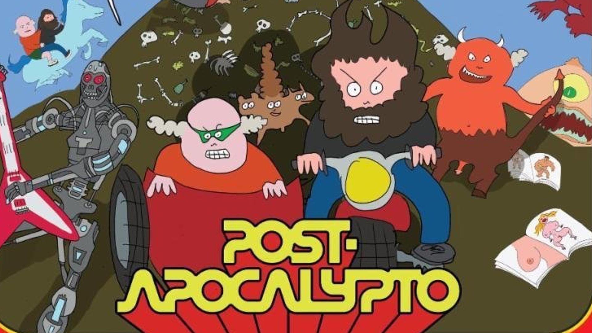 Risultati immagini per tenacious d post apocalypto