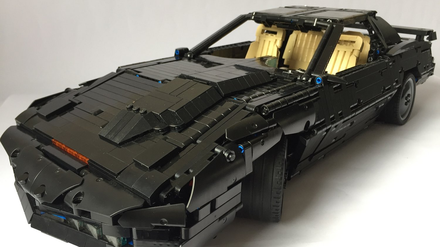 Turn Your Car into K I T T  With This KNIGHT RIDER Inspired