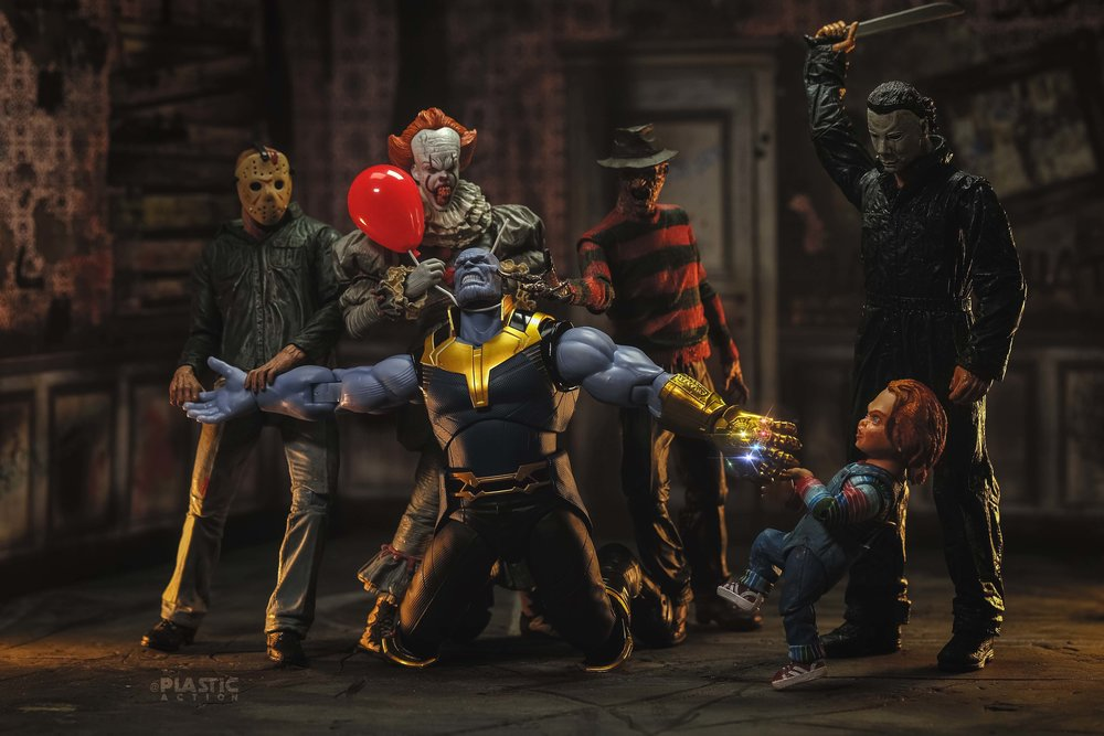 thanos-finds-himself-being-attacked-by-a-gang-of-iconic-horror-villains-in-this-photo11