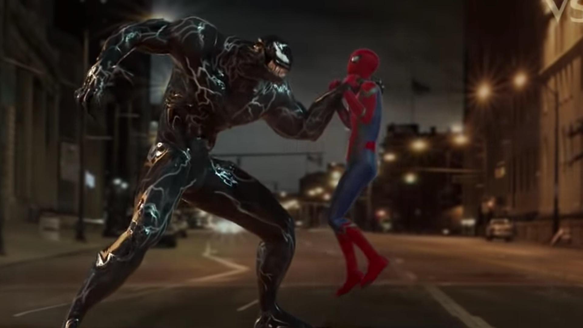 impressive fan-made cgi marvel video pits tom hardy's venom against
