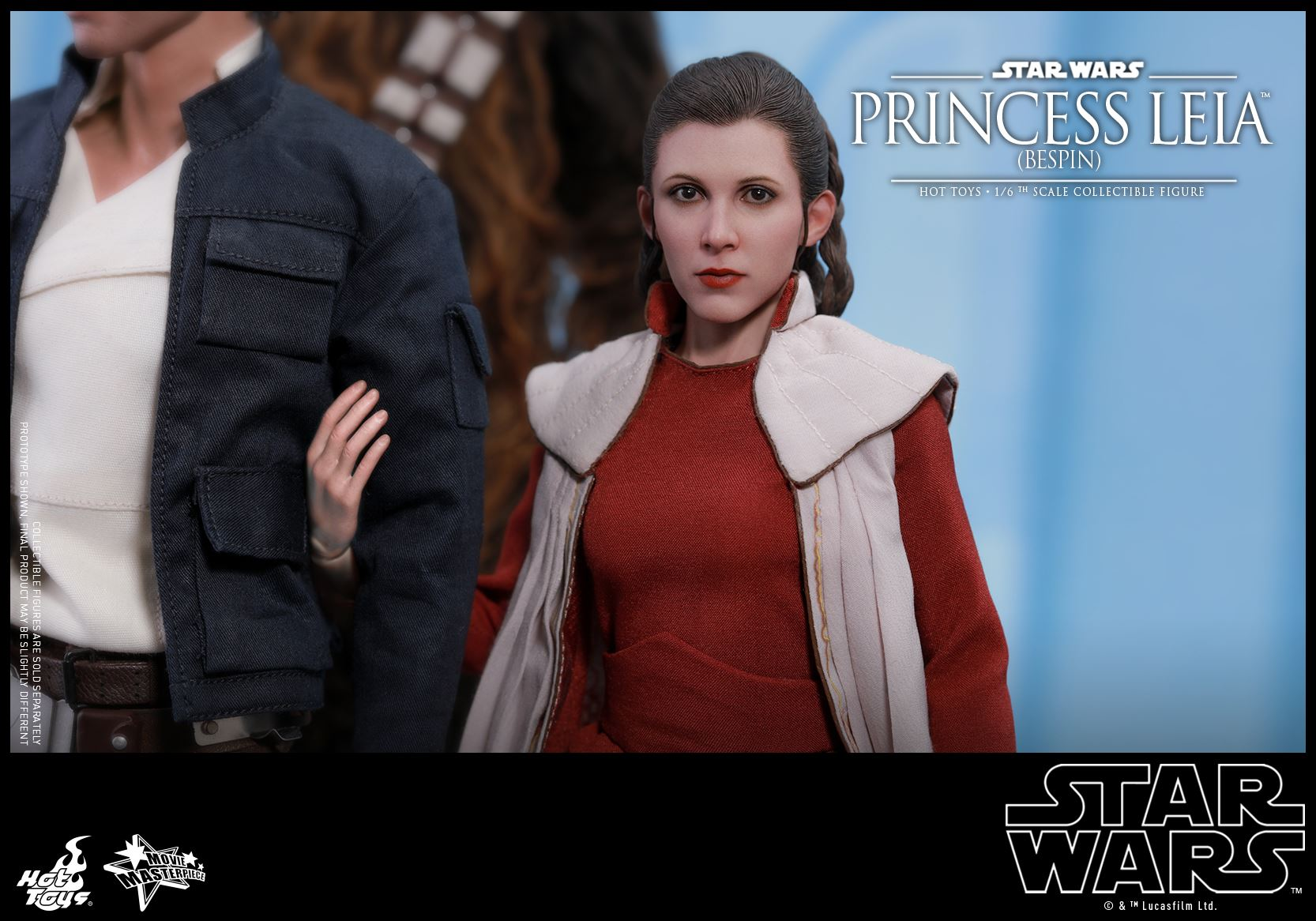 Hot Toys Reveals Stunning Princess Leia Bespin Star Wars Action