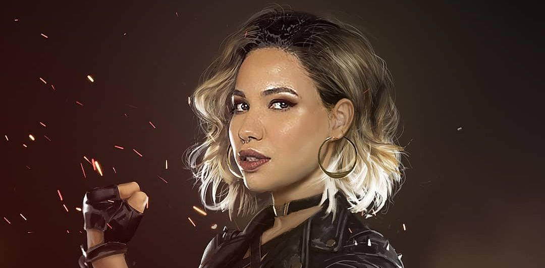 Datrinti Shows Us What Jurnee Smollett Bell Could Look Like As Black Canary In Birds Of Prey Geektyrant