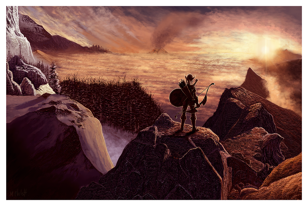 """Mark Chilcott """"Zelda"""" giclee, 13 x 19 inches, numbered edition of 50, available for $35"""