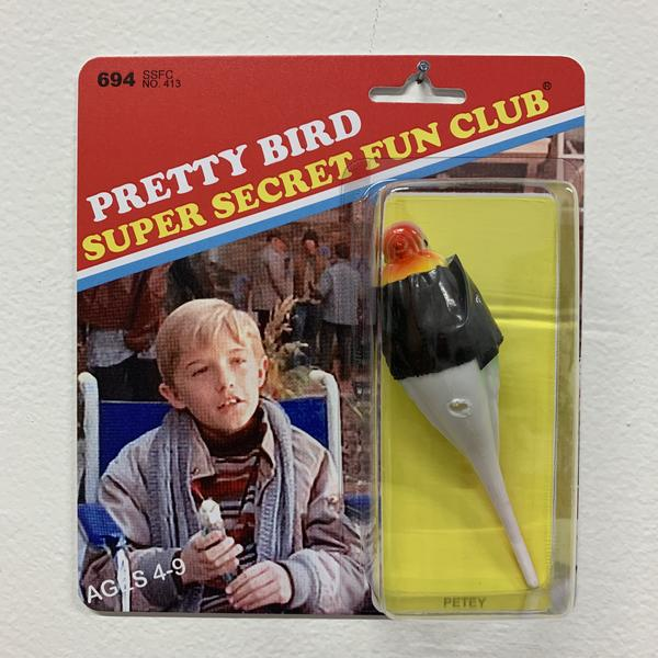 """Super Secret Fun Club """"Petey"""" BNG Edition Toy, edition of 50, available for $25"""