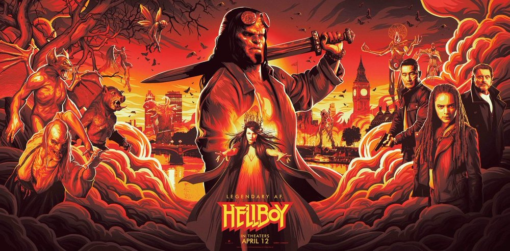 new-poster-art-for-hellboy-shows-off-the-main-characters-and-crazy-creatures