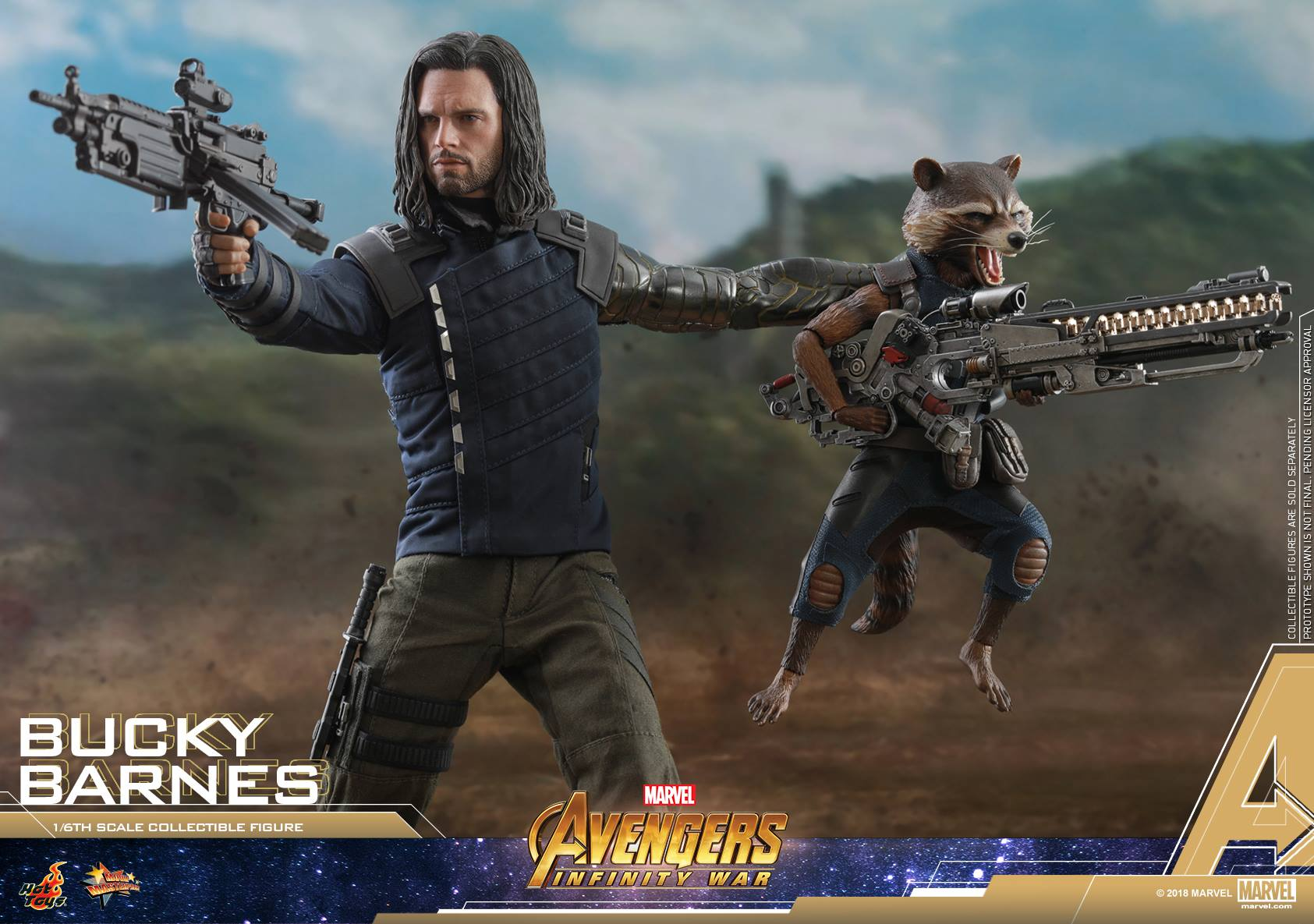 Hot Toys Shows Off Their Avengers Infinity War Bucky Barnes Action