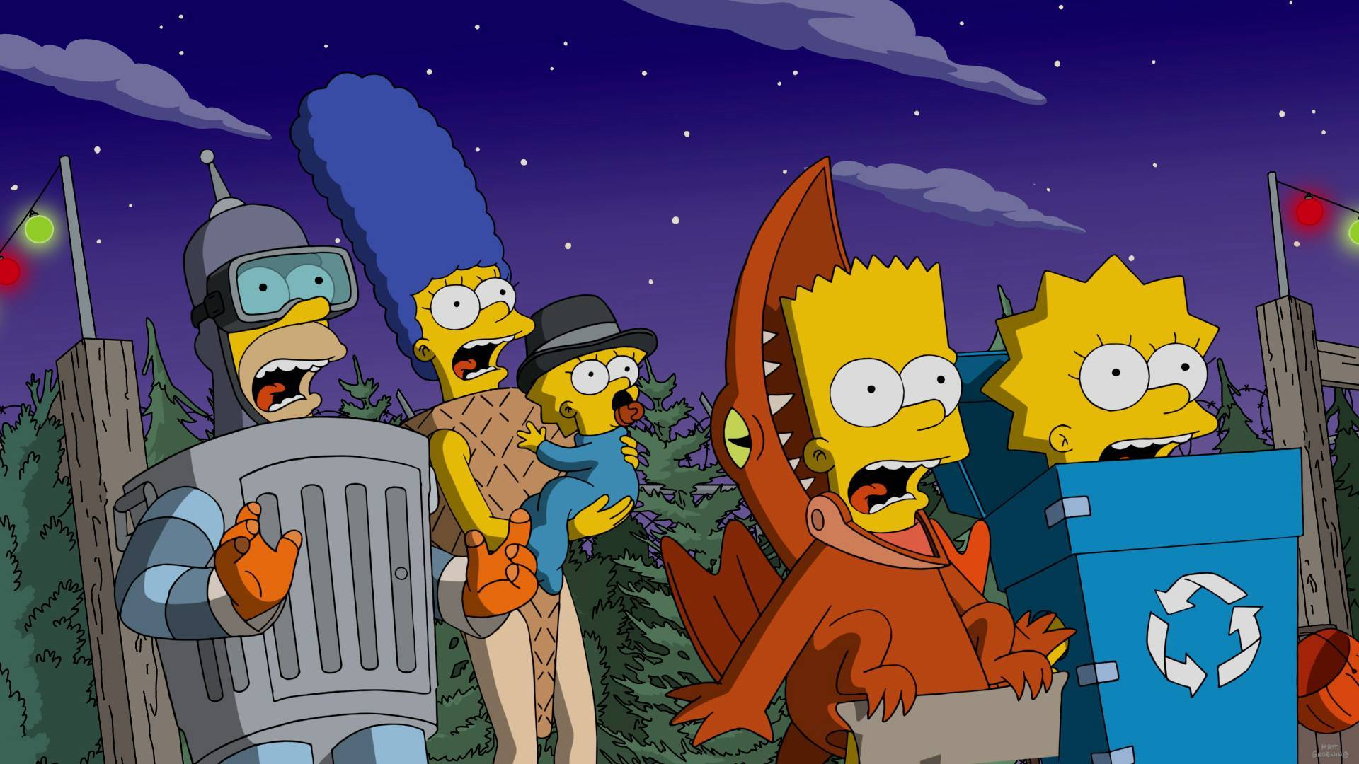 """the simpsons 2019 """"treehouse of horror"""" will be episode 666 — geektyrant"""