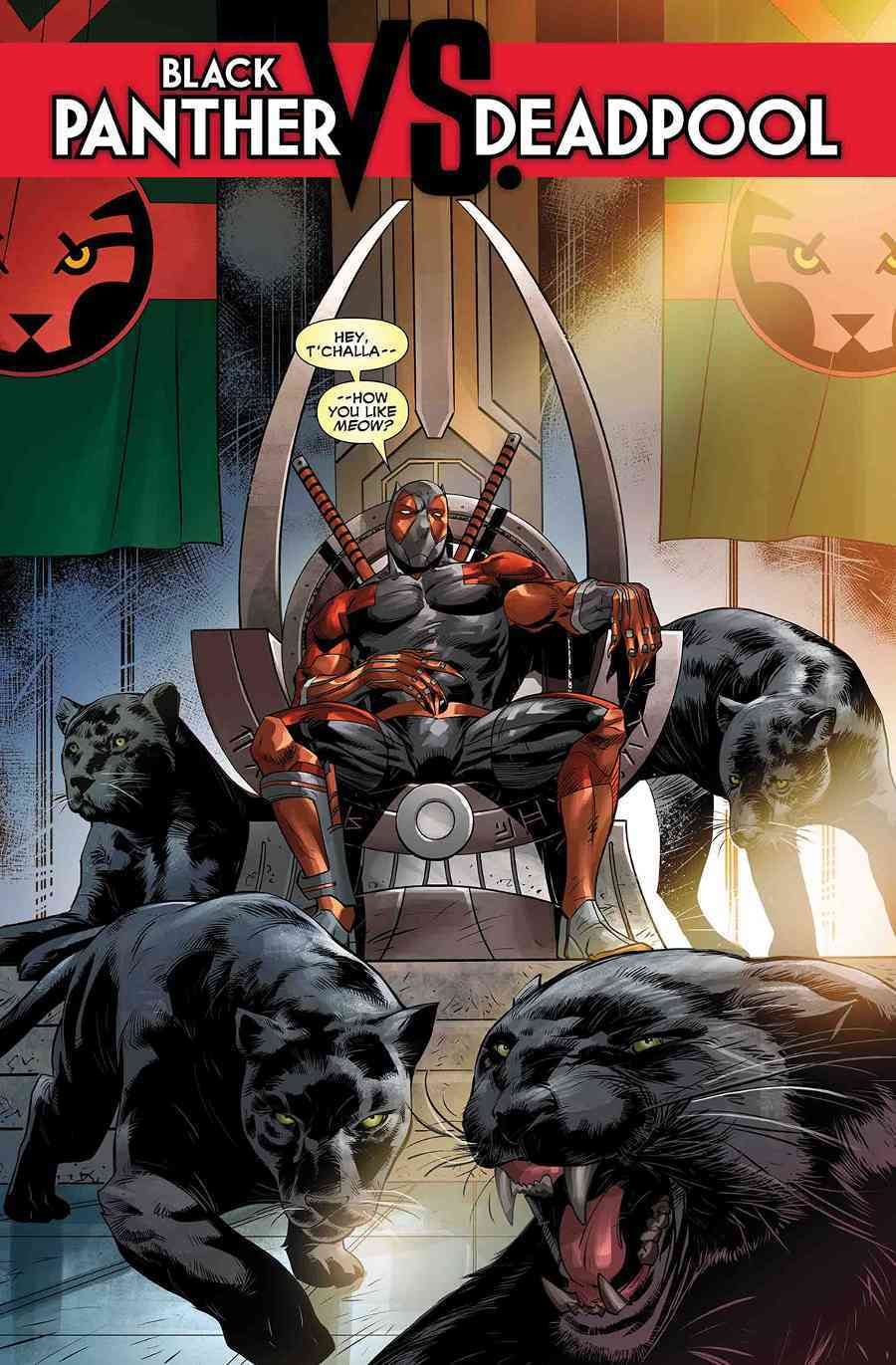 It Looks Like Deadpool Is Going To Be Black Panther In Marvel Comics
